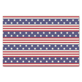 Stars and Stripes Patriotic American Flag USA Tissue Paper