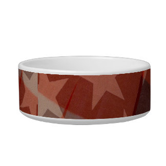 Stars and Stripes Pet Bowl
