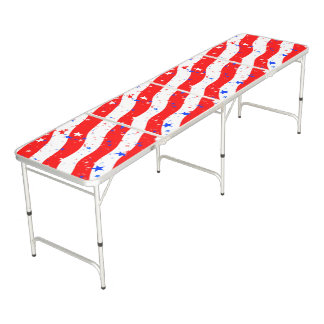Stars and Stripes Ping Pong Table -Julie Everhart
