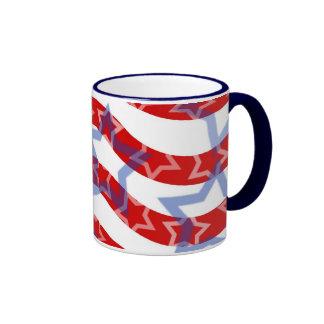 Stars-And-Stripes Ringer Mug