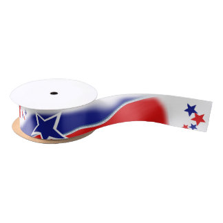 Stars and Stripes Satin Ribbon