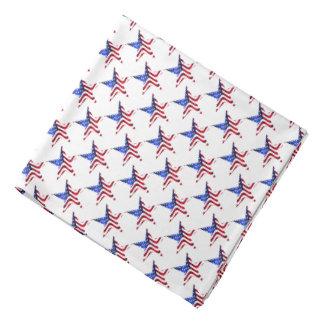Stars and Stripes Star Design Bandana