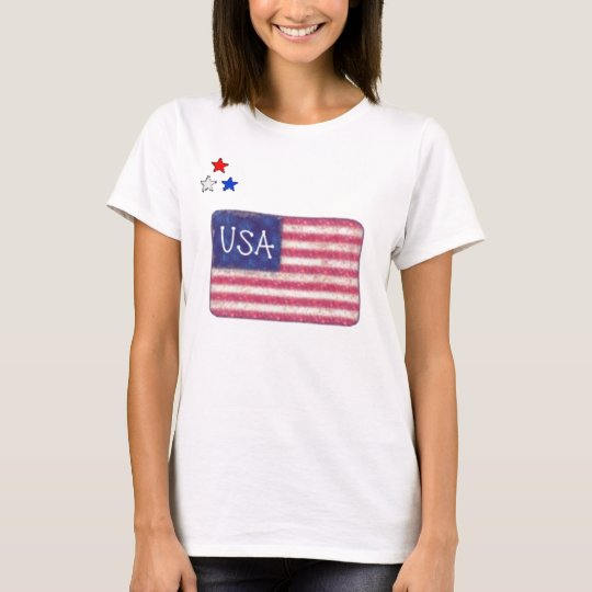 STARS AND STRIPES TEE SHIRT