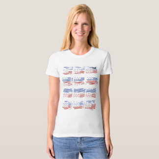 Stars and stripes tee shirts