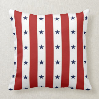 Stars and Stripes Throw Pillow