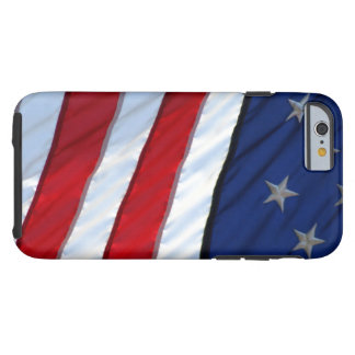 Stars and stripes tough iPhone 6 case