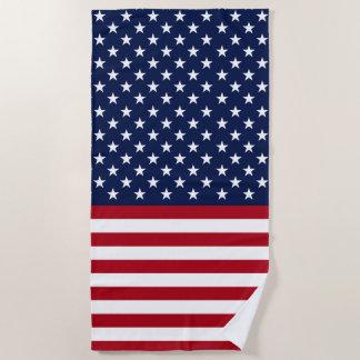 Stars and Stripes USA Flag Beach Towel