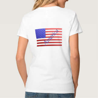 Stars and Stripes Woman's T-Shirt