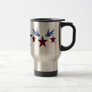 Stars and swallows Mug