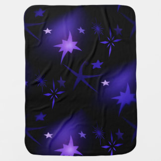 Stars baby blanket