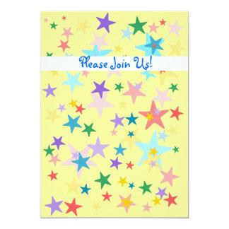 Stars Baby Shower Invitation