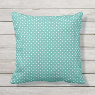 Stars background pattern outdoor pillow