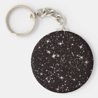 stars black night keychain