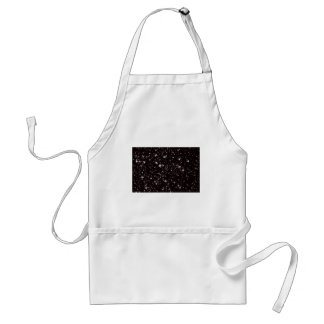 stars black night standard apron