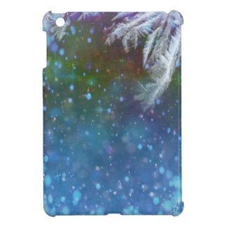 Stars blue sky background abstract iPad mini case