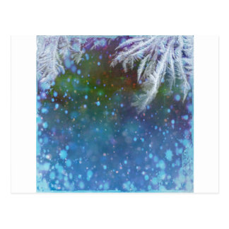 Stars blue sky background abstract postcard