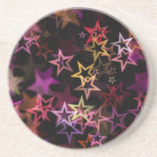 Stars Bright Night Design Coaster