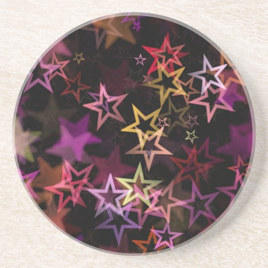 Stars Bright Night Design Coaster