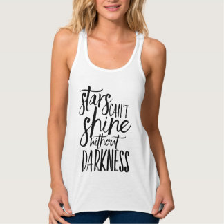 Stars Can't Shine Without Darkness | Tank Top