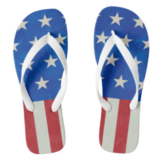 Stars Collection USA Flip Flops
