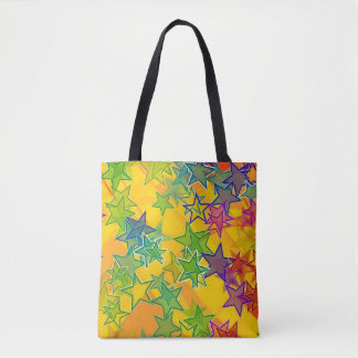 Stars Custom All-Over-Print Tote Bag