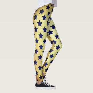 Stars everywhere. leggings