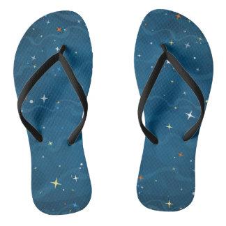 Stars Flip Flops