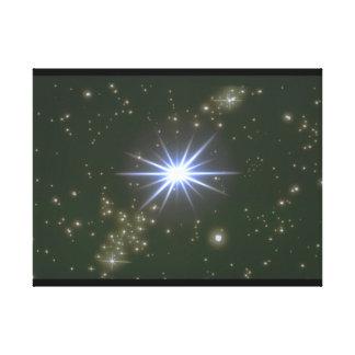 Stars. (galaxy;space;stars;color_Space Scenes Canvas Print