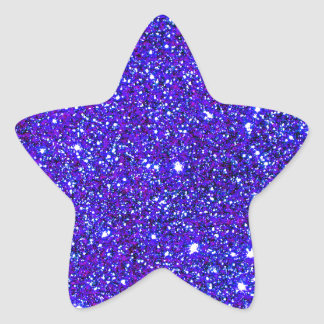 Stars Glitter Sparkle Universe Infinite Sparkly Star Sticker