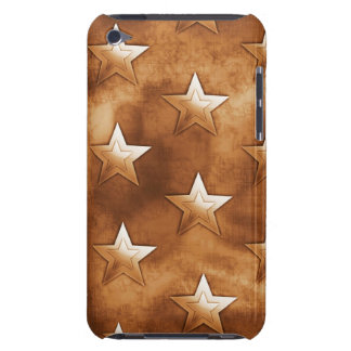 Stars in Brown iPod Touch Case-Mate Case
