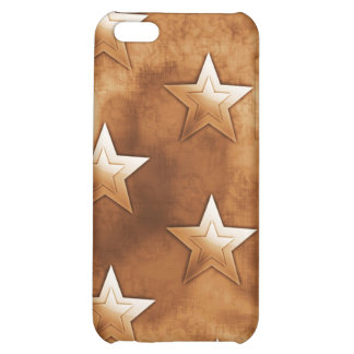 Stars in Brown iPhone 5C Cover