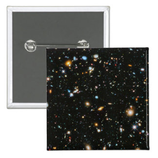 Stars in Space - Hubble Ultra Deep Field 2 Inch Square Button