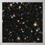 Stars in Space - Hubble Ultra Deep Field Poster