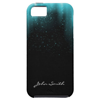 Stars in the Night with Custom Name iPhone 5 Case