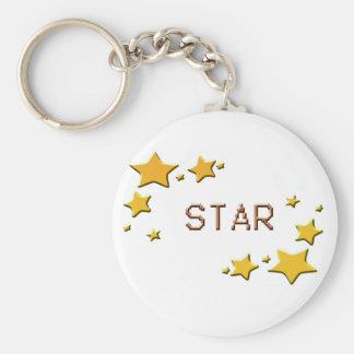 stars keychain
