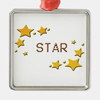 stars metal ornament