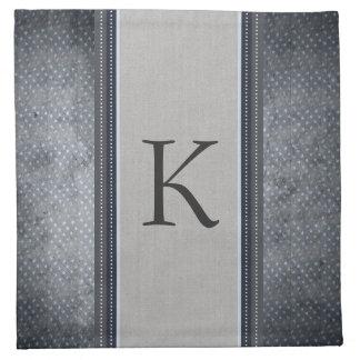 Stars Monogram Cloth Napkins