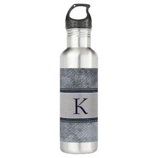 Stars Monogram Water Bottle