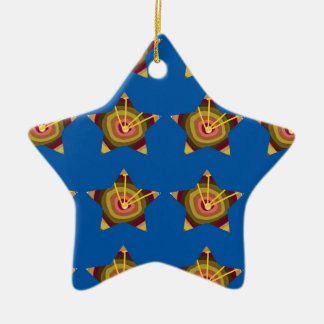 STARS n BLUE BASE: Art by NAVIN JOSHI lowprices Christmas Ornament