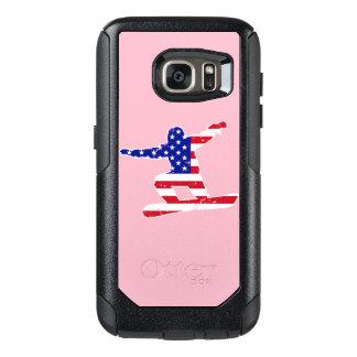 Stars 'n' Stripes SNOWBOARDER (wht) OtterBox Samsung Galaxy S7 Case