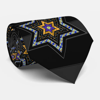 STARS of David and Stripes Tie