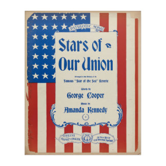 Stars of our Union Acrylic Print