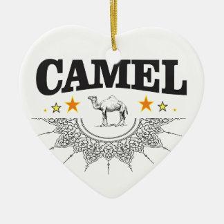 stars of the camel ceramic ornament