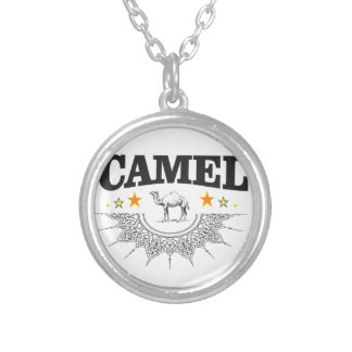 stars of the camel silver plated necklace