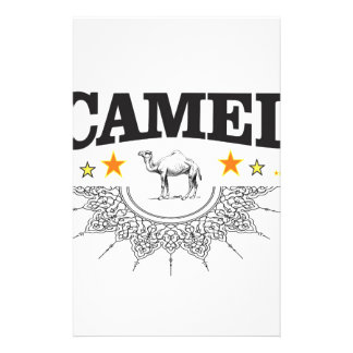 stars of the camel stationery