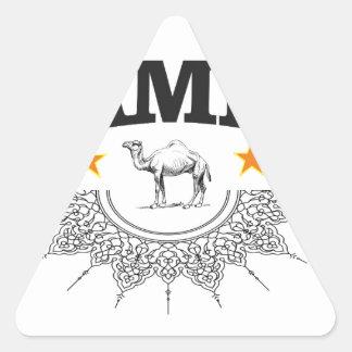 stars of the camel triangle sticker