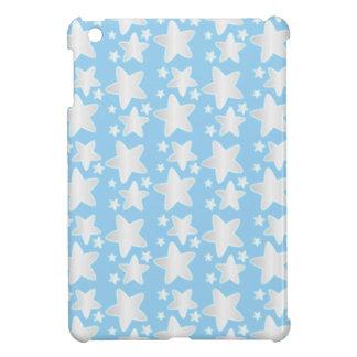 Stars on blue case for the iPad mini