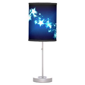 Stars on Blue Table Lamp
