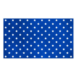 Stars On Fabric Texture Double-Sided Standard Business Cards (Pack Of 100)