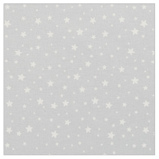 Stars on Gray Fabric